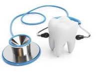 ząb i stetoskop