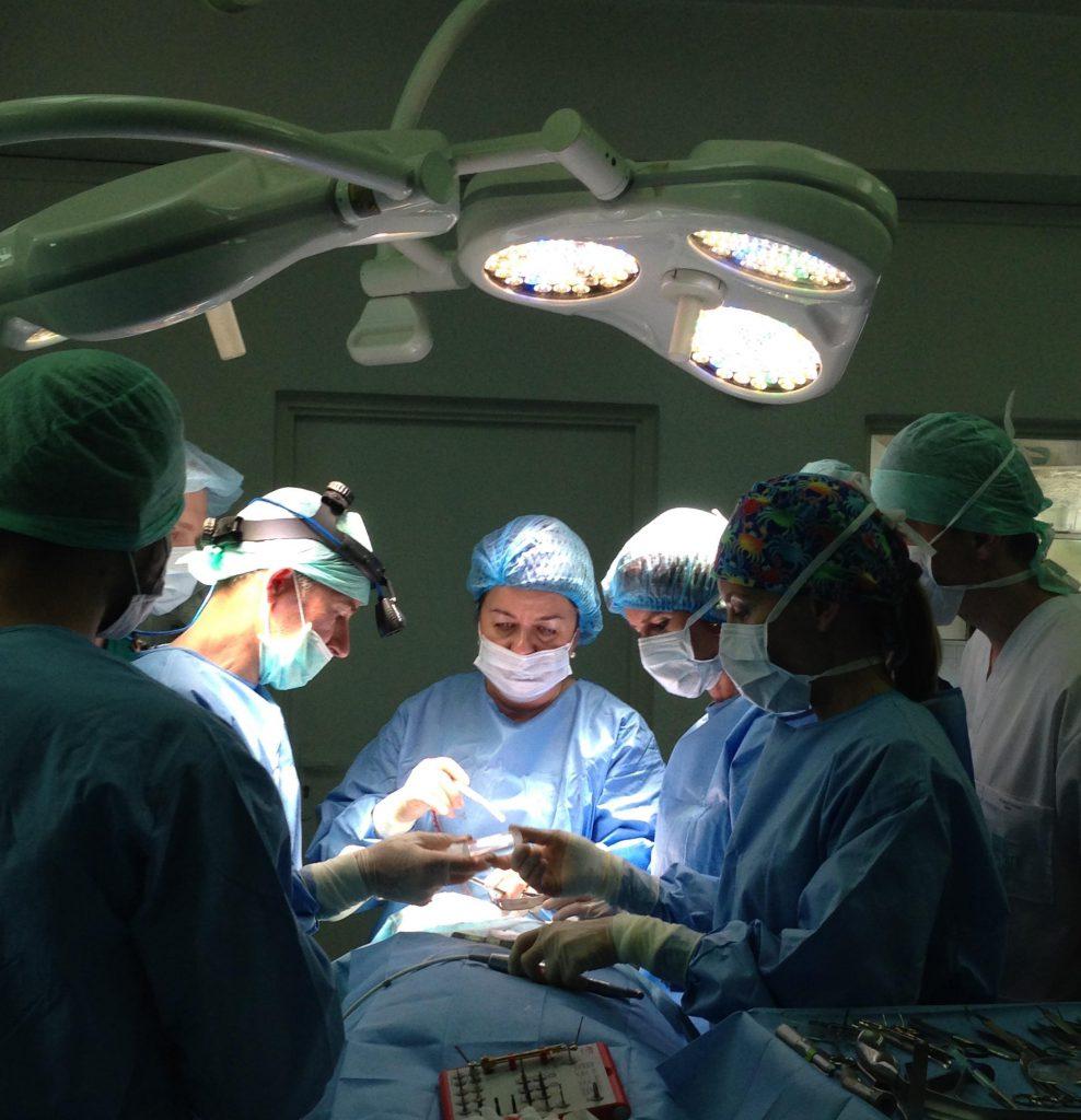 zabieg na wszczepienie implantu