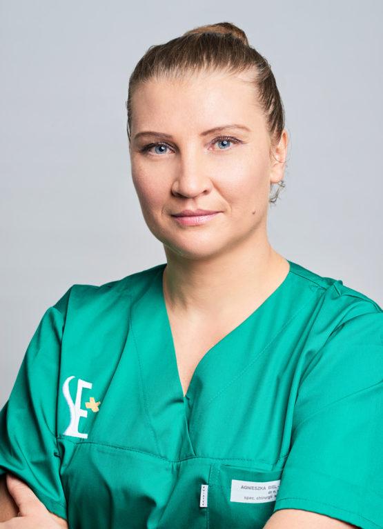 dr n. med Agnieszka Biel - specjalista chirurgii szczękowo-twarzowej, implantolog