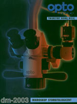 ulotka z mikroskopem