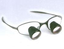 okulary dentystyczne z lupą