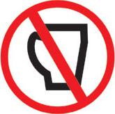 Zakaz picia kawy i kolorowych napojów